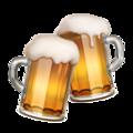 Clinking Beer Mugs on Apple iOS 11.2